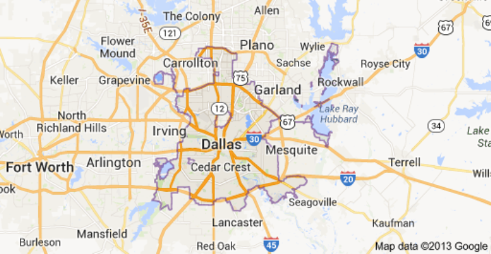 Dallas Fort Worth Area We Cover